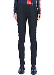Paco Rabanne Fitted Panel Pants Black