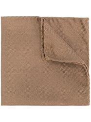 Dsquared2 Textured Pocket Square Brown