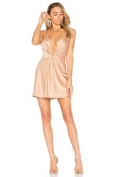 House Of Harlow X Revolve Sharon Dress In Camel Brown
