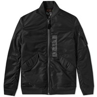 Beams Plus L 3B Down Bomber Jacket Black