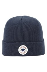 Men's Converse 'Core' Knit Cap Blue Converse Navy