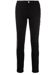 Twin Set Sequin Embellished Skinny Jeans 60