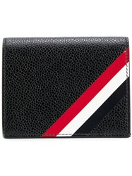 Thom Browne Double Card Holder Leather Black