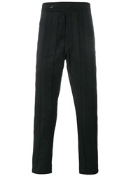 Ann Demeulemeester Panelled Trousers Black