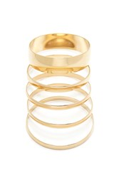Forever 21 Mirrored Bangle Set Gold