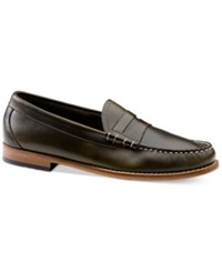 G.H. Bass And Co. Men's Larson Loafers Men's Shoes Green
