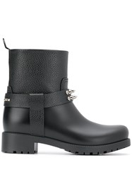Philipp Plein Studded Boots Black