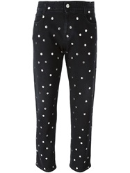 Stella Mccartney Polka Dot Jeans Black