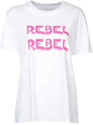 6397 Rabel Printed T Shirt White