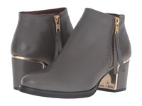 Eric Michael Margot Grey Women's Zip Boots Gray
