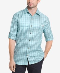 G.H. Bass And Co. Men's Tattersall Explorer Fishing Shirt Icy Morn Plaid