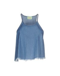 Aries Topwear Tops Women Blue