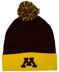 Top Of The World Minnesota Golden Gophers 2 Tone Pom Knit Hat