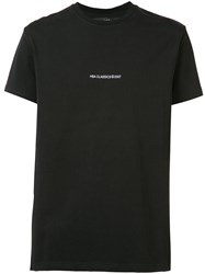Hood By Air Year Print T Shirt Black