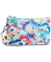 Kipling Creativity Xl Wristlet In Bloom