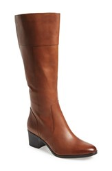 Women's Naturalizer 'Harbor' Tall Boot Brown Leather Wide Calf