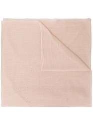 Allude Frayed Scarf Neutrals