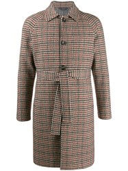 Circolo 1901 Houndstooth Pattern Coat 60