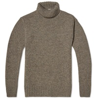 Mhl By Margaret Howell Mhl. By Margaret Howell Merino Roll Neck Pebble