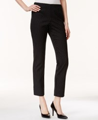 Charter Club Printed Slim Leg Ankle Pants Only At Macy's