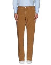 Carlo Chionna Trousers Casual Trousers Men Camel