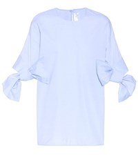 Victoria Beckham Cotton Top Blue