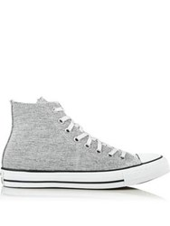 Converse Chuck Taylor All Star Hi Top Sparkle Knit Trainers Multi