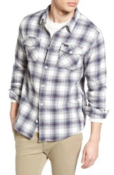 Rvca Men's 'That'll Work' Trim Fit Plaid Flannel Shirt