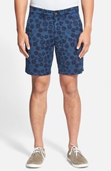 Ag Jeans Men's Ag 'Wanderer' Print Stretch Cotton Twill Shorts