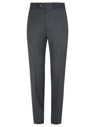 Aquascutum London Twill Suit Trousers Grey
