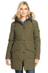 Women's Penfield 'Hoosac' Genuine Coyote Fur Trim Down Parka