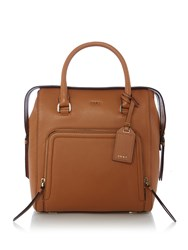 Dkny Chelsea Vintage Satchel Bag Tan