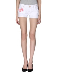Hello Kitty Denim Shorts White
