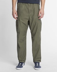 Carhartt Distressed Khaki Camper Sanders Slim Fit Cargo Jogging Bottoms
