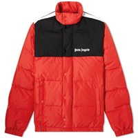 Palm Angels Down Track Jacket Red