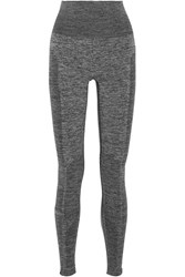 Lndr Delta Paneled Stretch Knit Leggings Gray