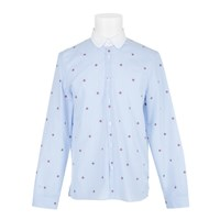 Gucci Bee Shirt Blue White