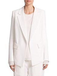 Chlo Two Pocket Crepe Blazer