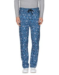 Byblos Trousers Casual Trousers Men Azure