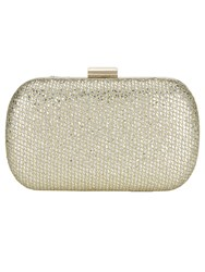 Phase Eight Lola Glitter Box Clutch Yellow