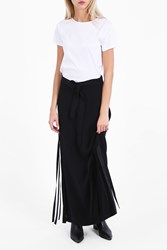 Helmut Lang Women S Ribbon Detail Skirt Boutique1 Black