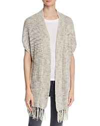 Joie Sona Open Front Cardigan Flax Grey Multi