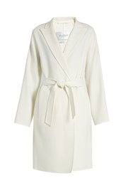 Max Mara Nancy Coat White