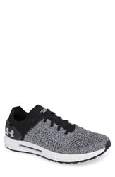 Under Armour Hovr Sonic Nc Running Shoe Black White White