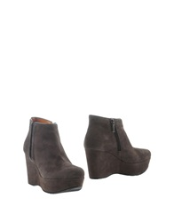 Pons Quintana Ankle Boots Grey