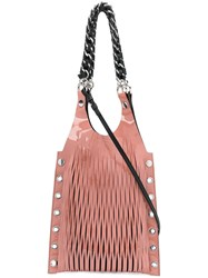 Sonia Rykiel Le Baltard Tote Pink And Purple