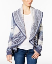 Charter Club Patterned Cardigan Only At Macy's Vintage Cream