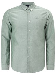 Scotch And Soda Long Sleeve Oxford Shirt Racing Green