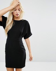 Asos Mini Wiggle Dress Black