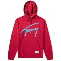 Tommy Jeans Signature Hoody Red